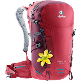 Deuter Speed Lite 22 SL Backpack Dam cardinal-maron